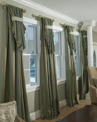 Long Living Room Curtains Beautiful Long Window Curtains And Grey Color Living Room Long