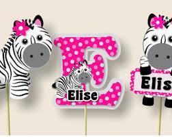 zebra print invite etsy