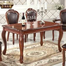 Carved Dining Table And Chairs European Dining Room Furniture Jcemeralds Co