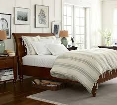 Pottery Barn Hampton Bed Best 25 Rustic Sleigh Beds Ideas On Pinterest Sleigh Beds