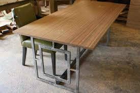 metal top kitchen table metal top dining room table mikka info