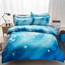 Starry Night Comforter Sale 3d Nebala Outer Space Star Galaxy Bedding Set 3 4 Pcs