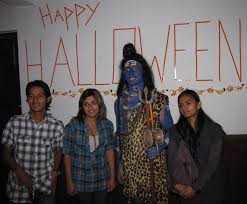 Himalayanmountainlion Birthday Halloween Party In Nepal