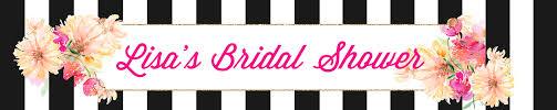 Bridal Shower Signs Bridal Shower Banners
