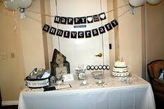25th anniversary party ideas what a idea to do and of all the memories made from the start