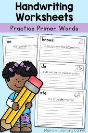 the 25 best handwriting worksheets for kindergarten ideas on