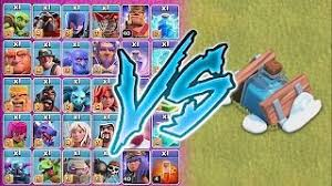 clash of clans all troops ecouter et télécharger giant skeleton vs all troops clash of