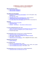 Five Paragraph Essay Outline Example We Will Be Reading Where The Red Fern Grows Watsons Go To