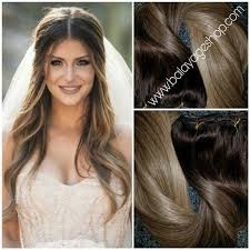 Temporary Hair Extensions For Wedding 2 8 22 Wedding Goddess Hair Extension Clip In Set Balayage