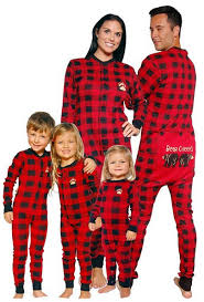 matching family onesie pajamas gift a thrifty