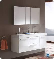 Contemporary Vanity Cabinets Bathroom Modern Double Sink Bathroom Vanities On Bathroom Intended
