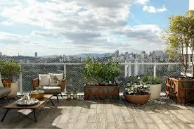 Modern Terrace Design For Your City Apartment  Three Great - Apartment terrace design