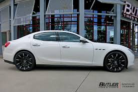 maserati ghibli grey black rims maserati ghibli with 20in lexani css15 wheels exclusively from