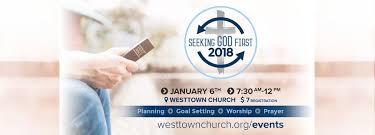 Seeking God Seeking God In 2018 Westtown Church