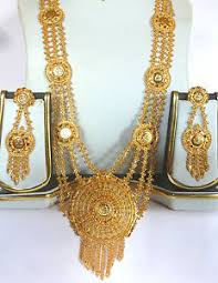 gold rani haar sets 22k gold plated 11 necklace earrings south indian wedding