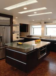 Types Kitchen Lighting Kitchen Ceiling Modern Types Of Ceiling Finishing In The Kitchen