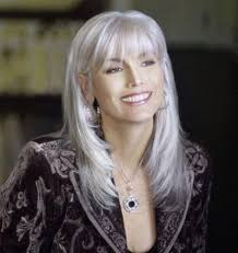 long grey hair styles for women over 50 sexy and gray time for the holidays