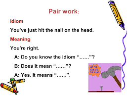 unit 3 lesson 1 idioms with body parts text ppt video online