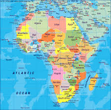 South Africa On Map by Africa World Map Roundtripticket Me