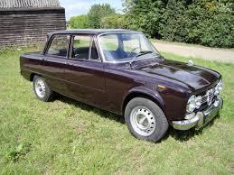 alfa romeo giulietta classic classic 1972 alfa romeo giulia super 1300 sedan saloon for sale