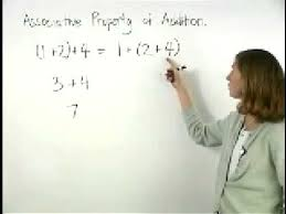 associative property of addition mathhelp com youtube
