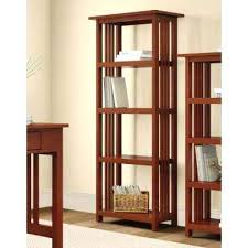 Single Bookcase Bookcase Lincoln Study Solid Wood Glass Door Cabinet Bookcase