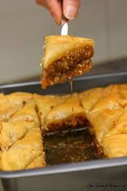 apprendre a cuisiner arabe best baklava recipe gateau miel cuisine orientale et mes