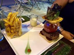 tarif cuisine carte menu tarif hamburger picture of chalet regain les rousses
