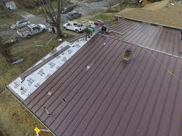 Corrugated Asphalt Roofing Panels by Low Slope Metal Roof Panels