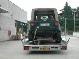 rimorchio porta auto trasporto cose o trasporto auto