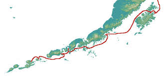 map of aleutian islands wildlife viewing on alaska s southcoastal viewing trail alaska