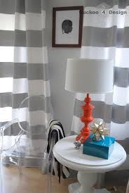Grey And White Striped Curtains Home Decoration Best White And Gray Horizontal Striped Curtains