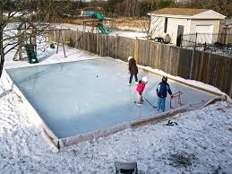 build backyard rink home design u0026 interior design