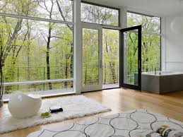 Window Sill Curtains Baseboards Recessed Lighting Ceiling Drapes Wood Flooring Open