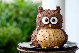 Decorative Owls by Owl Cake Relativetaste