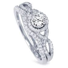 engagement rings and wedding band sets engagement rings with wedding band set