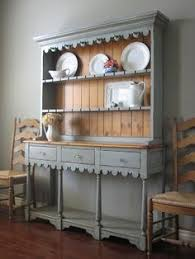 Kitchen Hutch Ideas European Paint Finishes Farmhouse Hutch Likes Of Mine