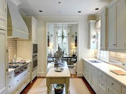 galley style kitchen with island the best galley kitchen design recommendations you can