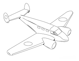 free printable airplane coloring pages for kids within airplanes