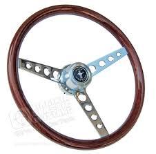 mustang steering wheels 65 67 mustang gt wood steering wheel assembly