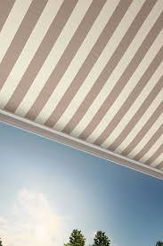 Striped Awning Sunbrella European Shade Collection