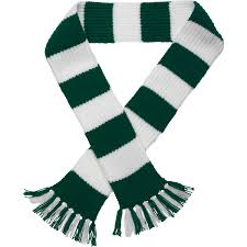 craft hobby knitted scarf kit football u0026 rugby dk double knitting