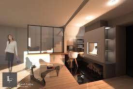 am nagement d un bureau la maison conception d un meuble bureau et d une cheminée carnac morbihan
