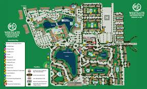 Walt Disney World Resorts Map by Westgate Town Center Resort Map Kissimmee Fl