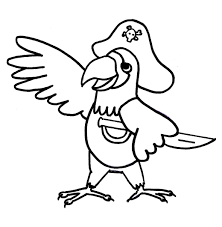 parrot coloring pages google interesting