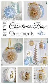 mini christmas box ornaments make your own town u0026 country living