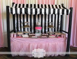 paris baby shower dessert bar fearon may events baby shower