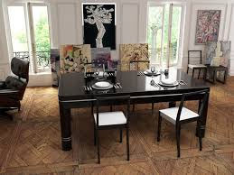 Dining Table Pool Pool Dining Tables With Modern Simple Armless Chair Dining Table