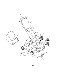 troybilt lawn mower parts model 436 sears partsdirect