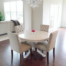 Brookline Tufted Dining Chair It Minus The White Table Threshold Brookline Tufted Dining